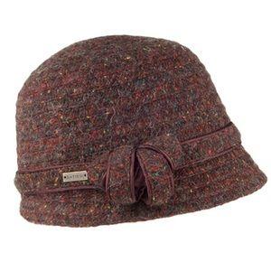 Betmar New York Chocolate Brown Hat Wool Blend